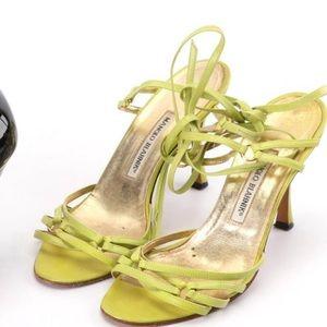 Manolo Blahnik  strappy heels size 40